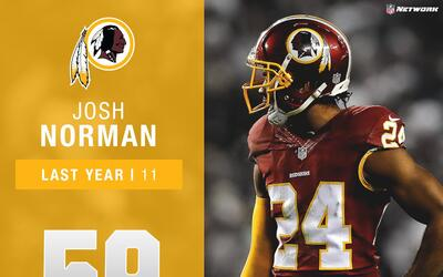 #59: Josh Norman (CB, Redskins) | Top 100 Jugadores 2017