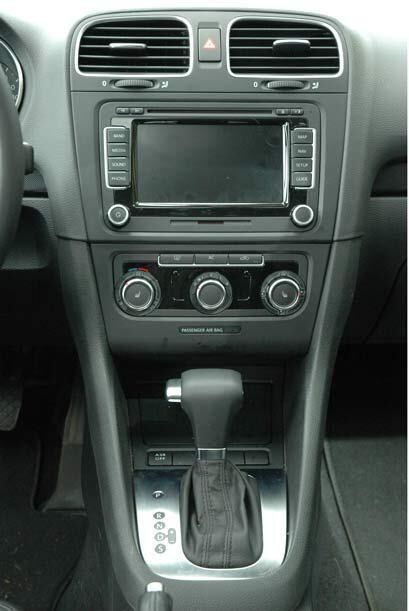La versión que probamos contaba con la caja de cambios automática Tiptro...