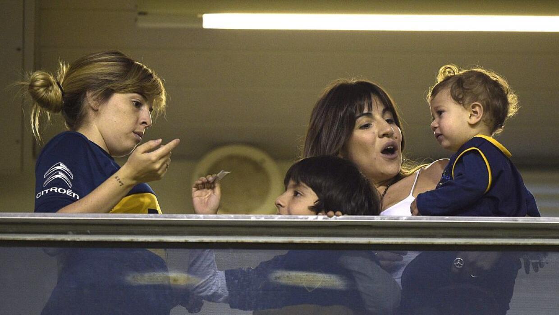 Dalma (izquierda) y Giannina Maradona, las hijas de Diego.