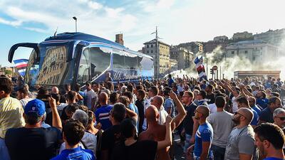 Génova y Sampdoria no jugarán en el inicio de la Serie A tras el derrumbe del puente