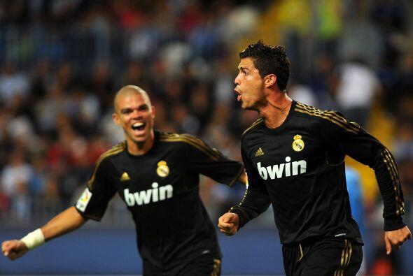 Málaga, el rival en turno, no supo cómo contener al luso, que con tres g...