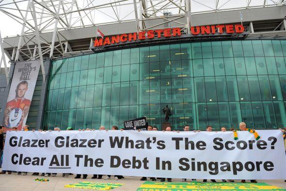 El estadio de Old Trafford atestiguó una de las goleadas m&aacute...