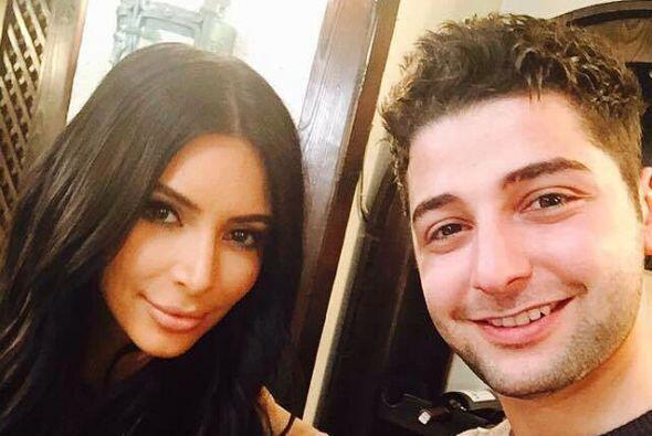 """En sus redes sociales Kim se dijo """"feliz"""" de estar en el pa&ia..."""