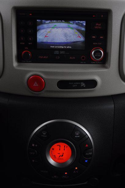 La consola central integra múltiples controles para las funciones de con...