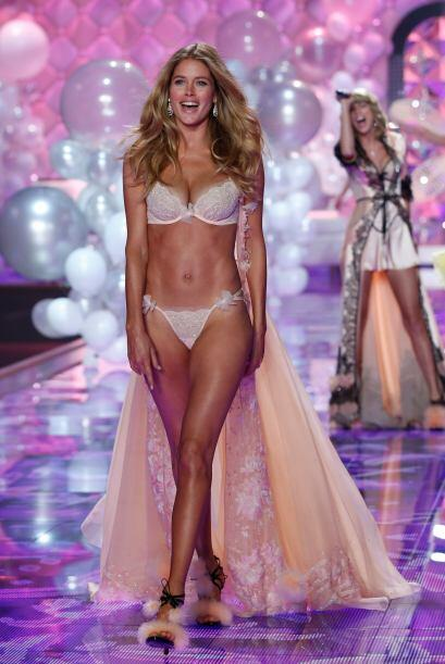 A lo largo de su carrera como angelita de Victoria's Secret, logró prota...
