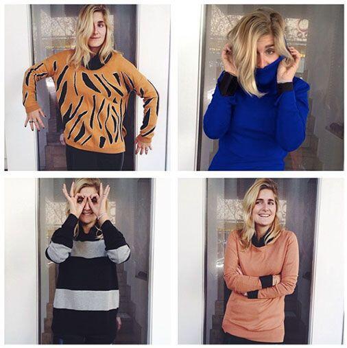 """7. En suéteres, busca calidad. """"Este otoño no importa si los suéteres so..."""