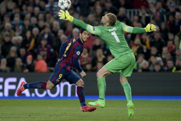 Luis Suárez fue de los elementos más incisivos en el ataque del Barcelon...