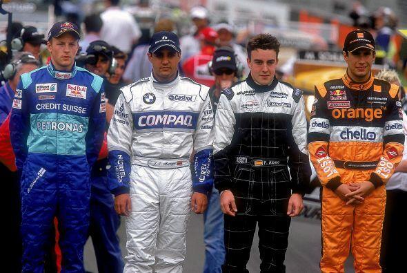 Alonso fue uno de los más destacados de los debutantes en la temporada d...