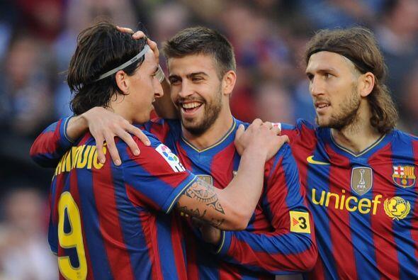 El sueco Ibrahimovic y el español Pique generaron una ola de rumores cua...