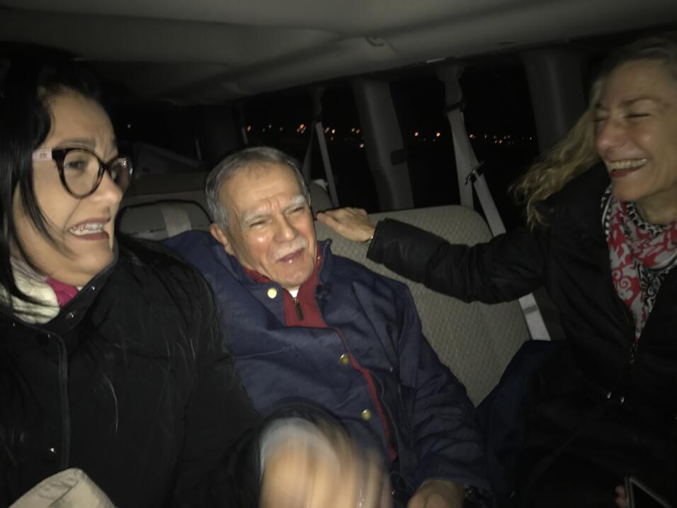 Todo listo para recibir a Oscar López Rivera en Humboldt Park, el barrio...