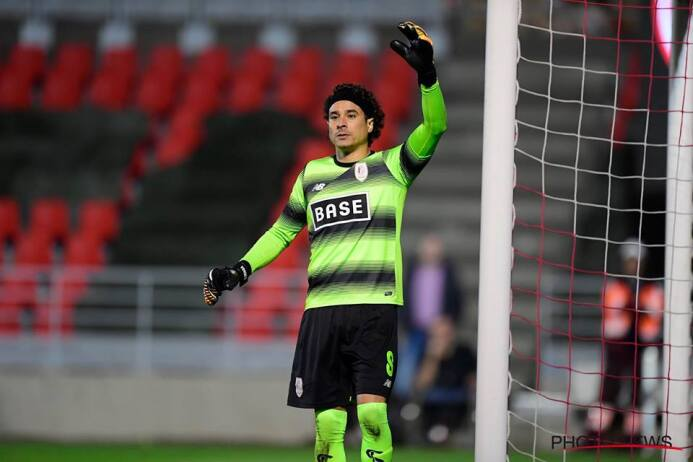 Standard Liege [0]-0 KV Oostende: arco en ceros para Guillermo Ochoa en...
