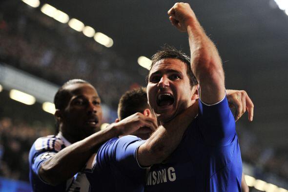 Y donde se movía el marcador fue en el duelo en Stamford Bridge, con un...
