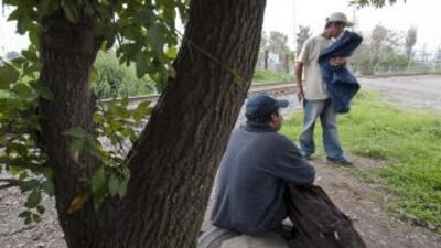 Los miles de migrantes centroamericanos que pasan al año por México en s...