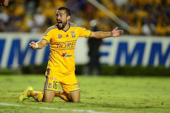 Hérculez Gómez, el atacante norteamericano quedó a deber con los Tigres...