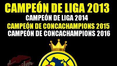 Memes del campeonato de América en la Liga de Campeones de la Concacaf ante Tigres
