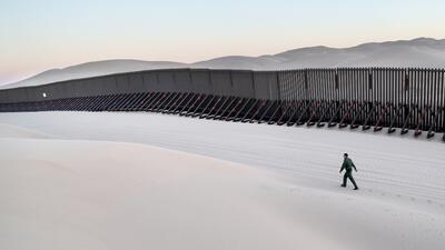 La accidentada geografía que hace que el muro de Trump cueste 5,700 millones de dólares (fotos)