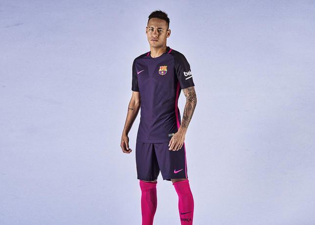 El nuevo uniforme de visita del Barcelona