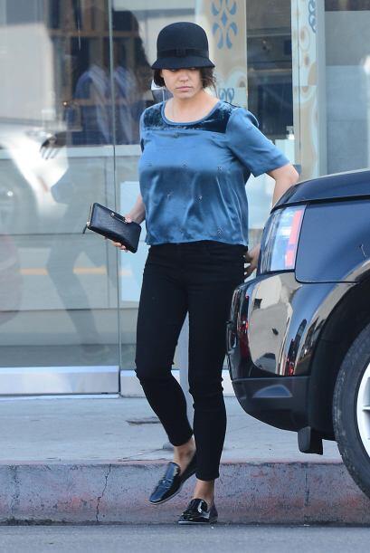 A Mila el embarazo le sentó de maravilla.