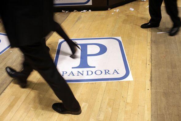 Del año 2000, en el que fue fundada Pandora, hasta el momento son más de...