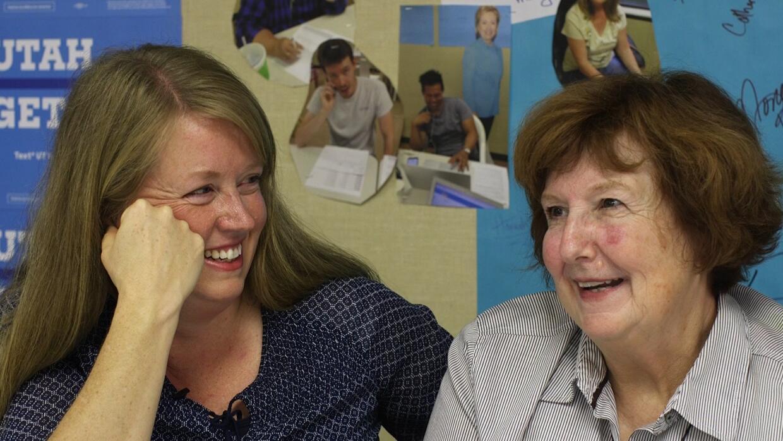 Alisa y su madre Barbara, unidas por primera vez en la política gracias...