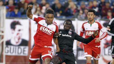 New England Revolution aguanta el empate ante DC United con dos hombres...