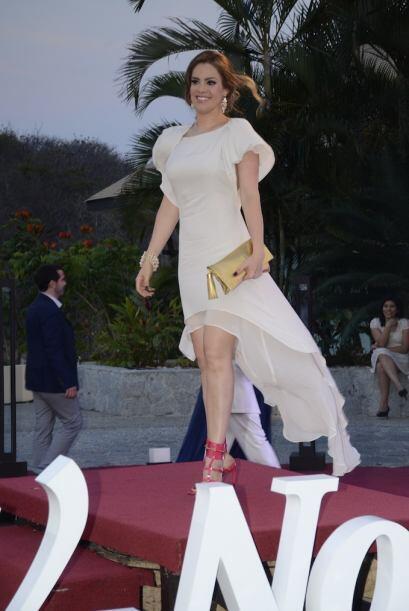 Su vestido estaba bien.