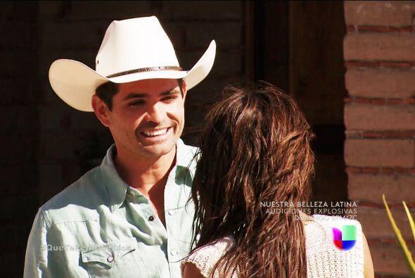 Y Diego es todo un galán Abigail y se ve que lo traes de un ala. ¡Siente...