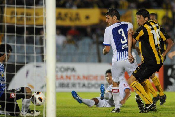 El conjunto charrúa se impuso con goles del chileno Juan Manuel Olivera...