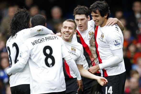 Manchester City ganó 4-2 y Wayne Bridge se llevó esa pequeña venganza.