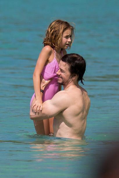El actor se dio el tiempo para pasar unas vacaciones en familia.