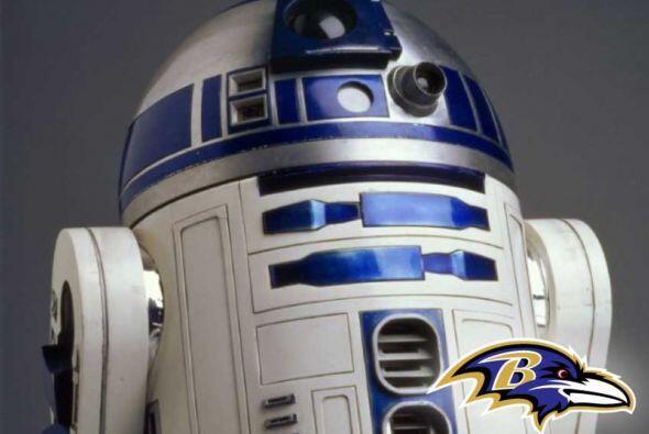 Pick 26. Baltimore Ravens -- R2-D2.