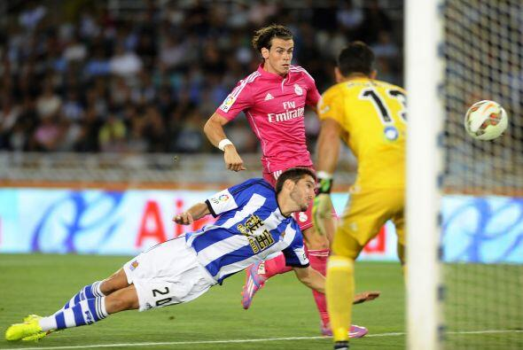 Real Madrid también jugaba como visitante y lo hizo ante la Real Sociedad.