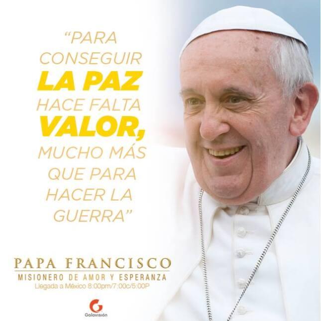 El Papa llevó un mensaje de paz a los mexicanos. ¡Mira sus mejores frases!