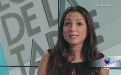 Alexandra Lúgaro contesta preguntas de la audiencia en L6DT