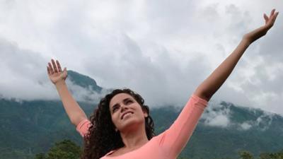 Brenda Catalán, bloguera de viaje y orgullosamente mexicana en este Mundial