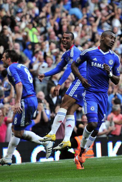 La felicidad de los del Chelsea luego del triunfo.