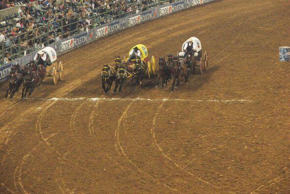 En fin, un día en el Rodeo Houston ofrece entretenimiento para todos los...