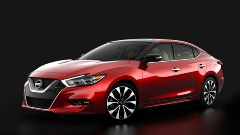 El diseño del nuevo Maxima está fuertemente basado en el Sport Sedan Con...