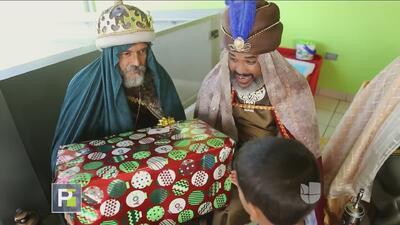 Univision Puerto Rico llevó alegría a decenas de niños en la isla con su Parranda de Reyes