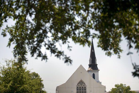 La vista de la iglesia la mañana de este jueves.