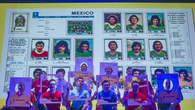 Fiebre del álbum del Mundial: así fue el lanzamiento del Panini en México