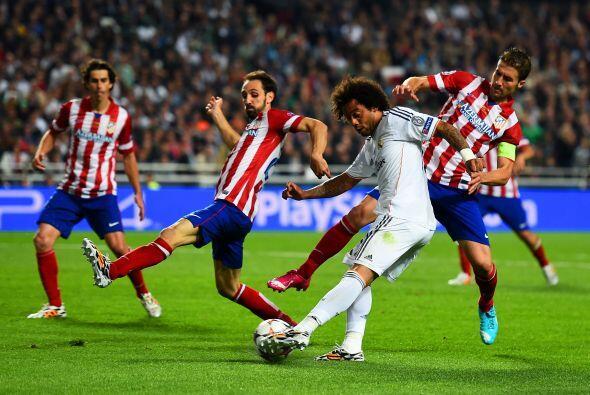 Físicamente los colchoneros ya no respondían y las llegadas del Madrid e...