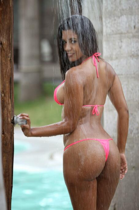 La peruana posee un espectacular cuerpo debido a que siempre ha practica...