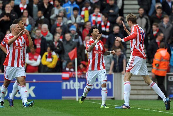 Así, Stoke City, sumaba una victoria importante.