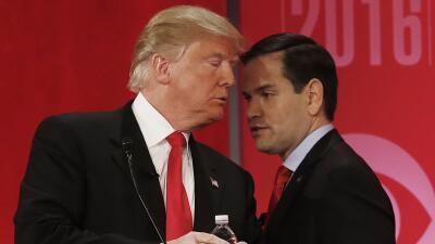 Trump y Rubio
