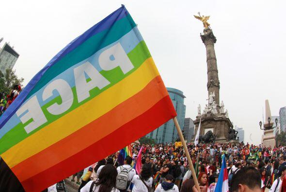 La convocatoria en México tuvo miles de participantes. Así luce la glori...