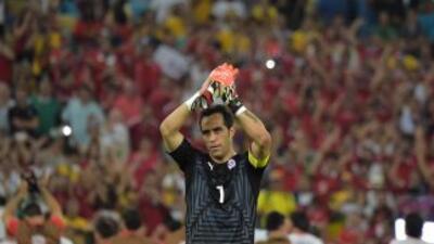 Claudio Bravo al Barcelona de España.