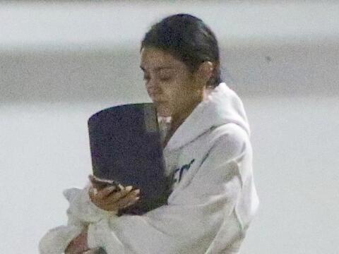 La famosa está desconsolada tras perder a su papi.