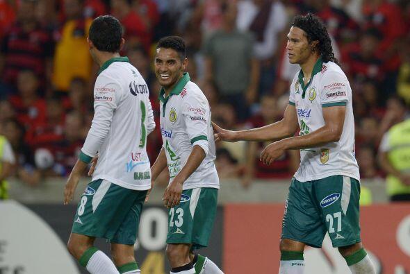 Los goles del equipo mexicano fueron obra de Franco Arizala al minuto 22...