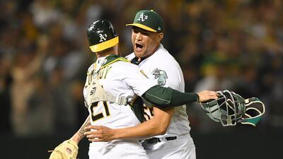 Manaea, de los Athletics, lanzó un 'no hitter' ante los poderosos Red Sox